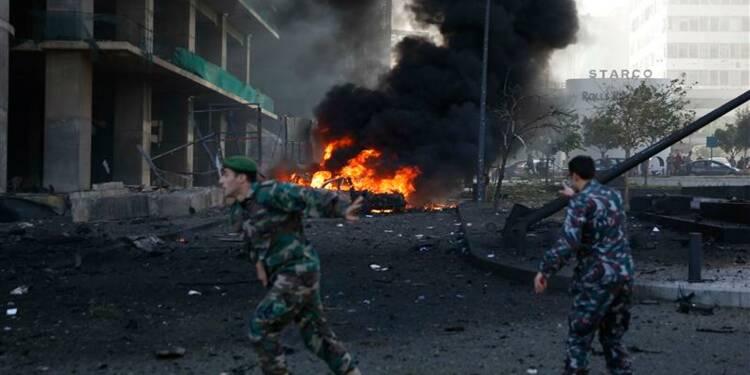 Forte explosion dans le centre de Beyrouth, des victimes