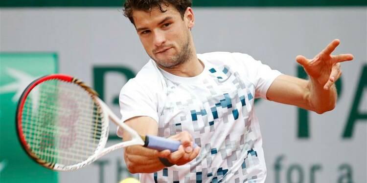 Roland-Garros: Dimitrov met fin à l'aventure de Pouille