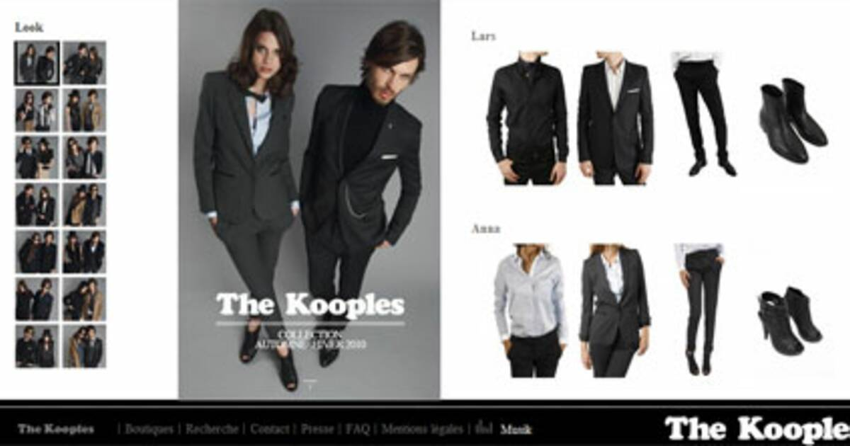 les fr res elicha fondateurs de the kooples chahutent la. Black Bedroom Furniture Sets. Home Design Ideas