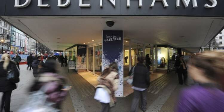 Debenhams avertit sur ses ventes de Noël, le titre chute