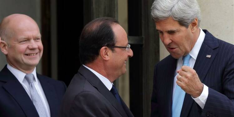 Syrie: Paris, Londres et Washington prônent une résolution forte