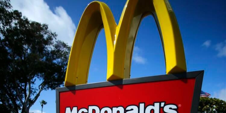 Bénéfice trimestriel en hausse pour McDonald's, ventes en recul