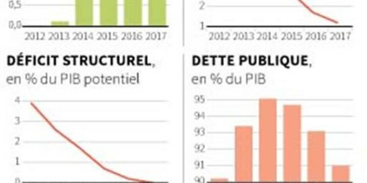 Paris doit poursuivre réformes et effort budgétaire, dit Draghi