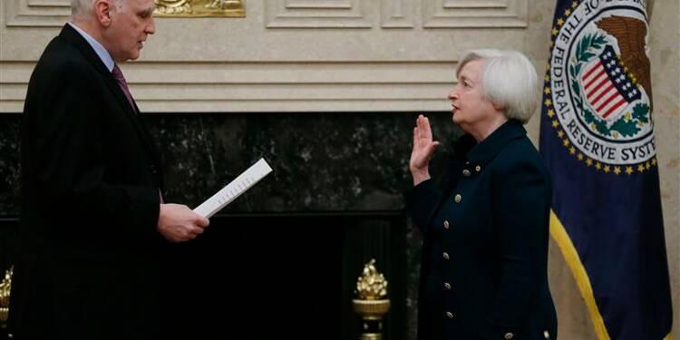 Janet Yellen a prêté serment comme présidente de la Fed