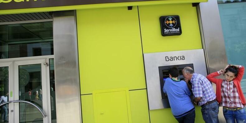 Madrid envisage une cession partielle de Bankia