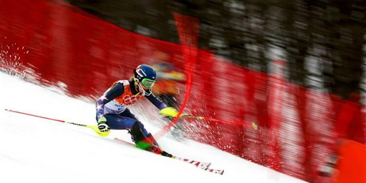 JO: Mikaela Shiffrin, championne olympique de slalom
