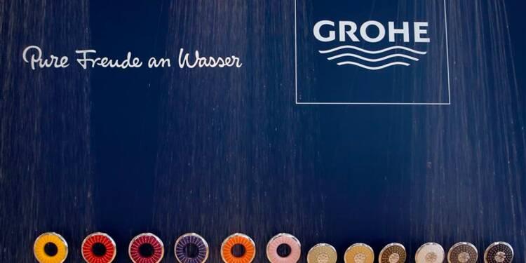 Grohe annonce son rachat par le japonais Lixil
