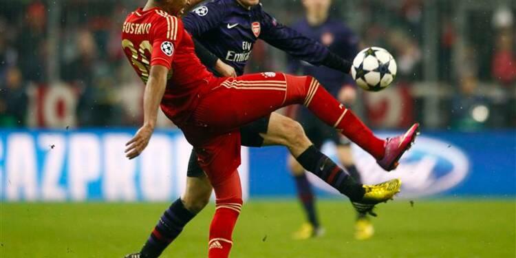 Ligue des champions: le Bayern a eu chaud