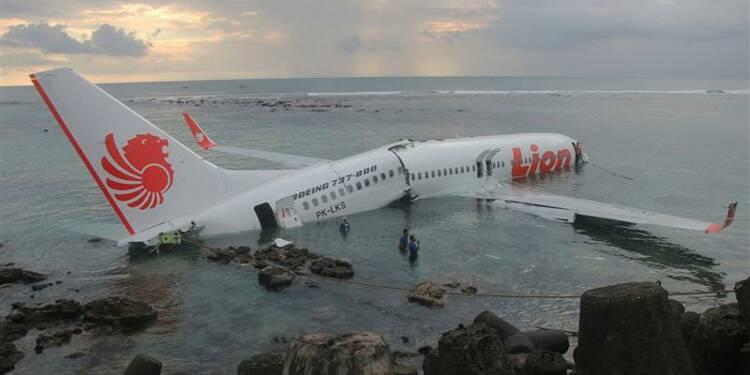 Un avion manque son atterrissage à Bali, pas de victimes