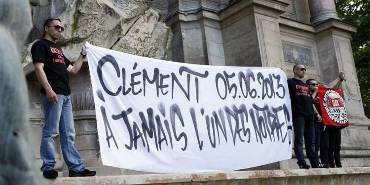 La mort de Clément Méric provoquée par les coups portés
