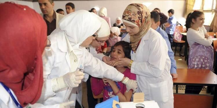 Plan d'urgence contre la polio en Syrie et chez ses voisins