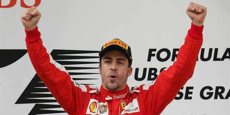 F1: Fernando Alonso remporte le Grand Prix de Chine
