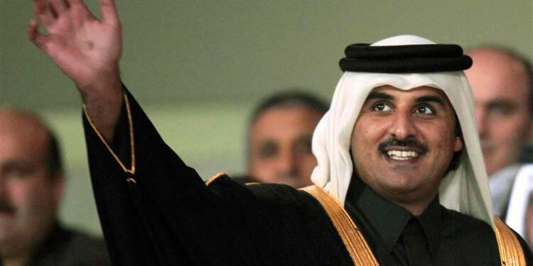 L'émir du Qatar abdique en faveur de son fils, cheikh Tamim