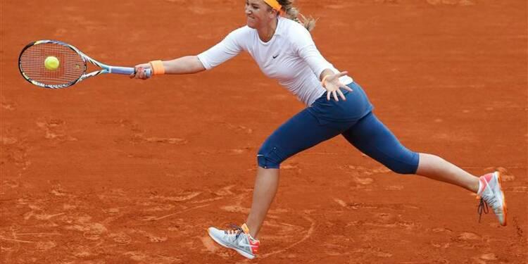 Roland-Garros: Victoria Azarenka sans souci