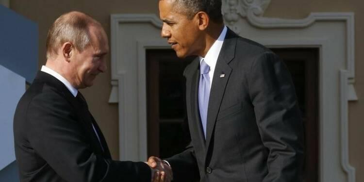 Poutine appelle Obama à propos de l'Ukraine