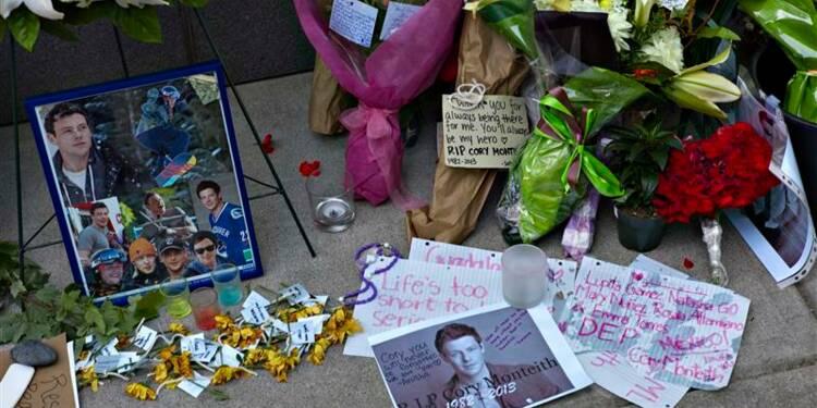 """L'acteur Cory Monteith de la série """"Glee"""" victime d'une surdose"""