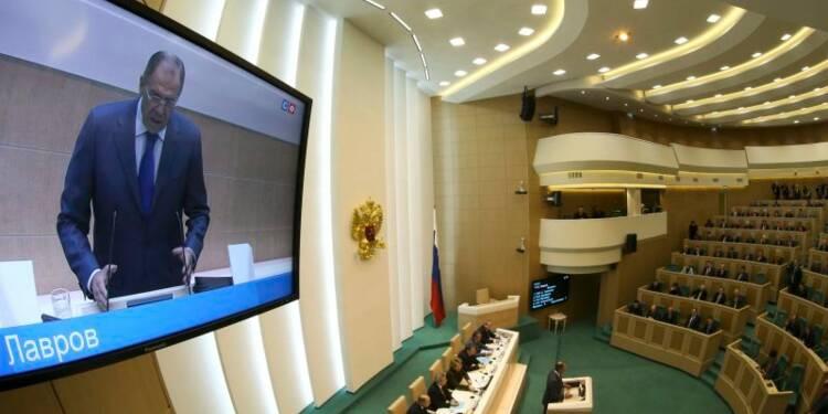 La chambre haute du Parlement russe vote l'annexion de la Crimée