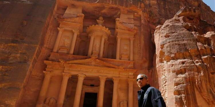 Obama achève en touriste son déplacement au Proche-Orient