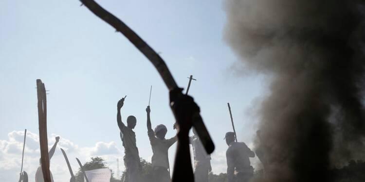 Accrochage entre soldats français et rebelles à Bambari