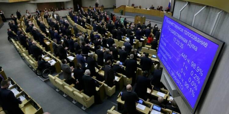 Le parlement de Crimée vote le rattachement à la Russie