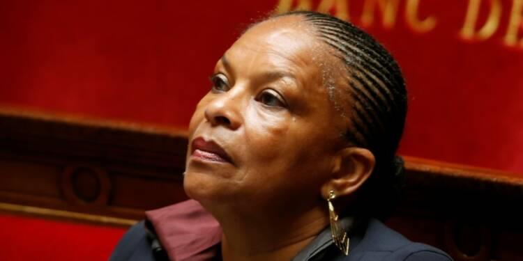 Copé demande la démission de Taubira dans l'affaire des écoutes
