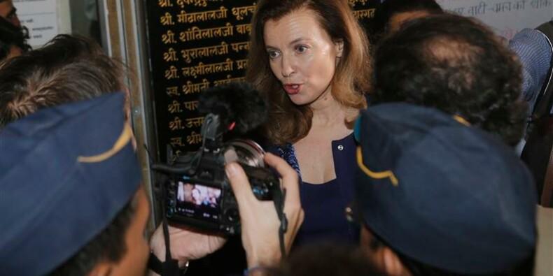 Ne vous inquiétez pas pour moi, dit Valérie Trierweiler en Inde