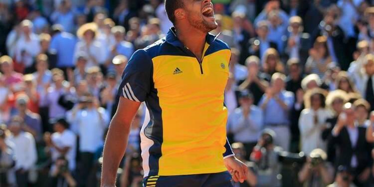 Roland-Garros: Tsonga étouffe Federer et va en demi-finale