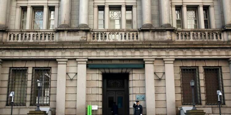 La Banque du Japon maintient sa politique et ses prévisions