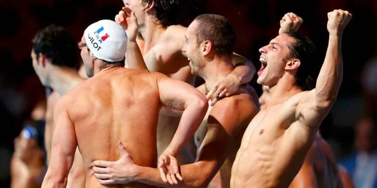 Natation: la France championne du monde du relais 4x10m 4 nages