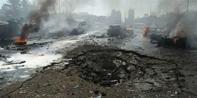 Attentat près du siège du parti Baas à Damas, 35 morts