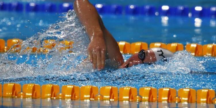 Natation: Camille Muffat en finale du 400m nage libre