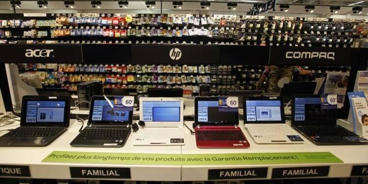 Les ventes d'ordinateurs ont continué leur chute en 2013