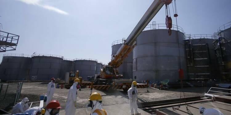 De l'eau contaminée fuit de la centrale nucléaire de Fukushima