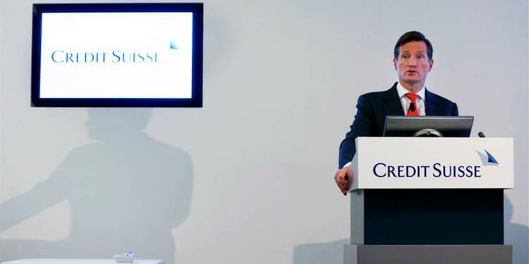 Le résultat trimestriel de Credit Suisse grevé par les litiges