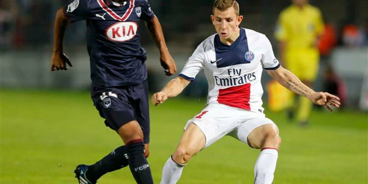 Ligue 1: le PSG bat Bordeaux et prend provisoirement la tête