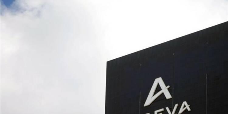 Fort recul du chiffre d'affaires trimestriel d'Areva, objectif annuel confirmé