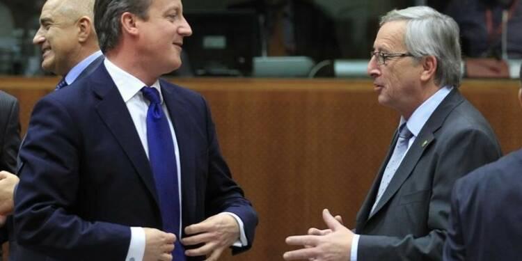 Cameron met en garde contre le choix de Juncker à Bruxelles