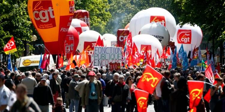 Les fonctionnaires défilent pour le pouvoir d'achat