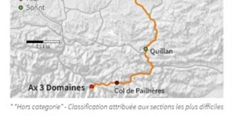 Tour de France: les favoris au pied de la montagne