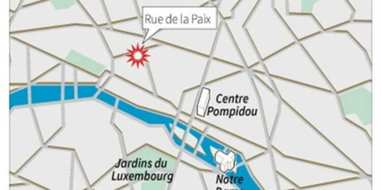 Attaque d'une bijouterie de luxe en plein Paris
