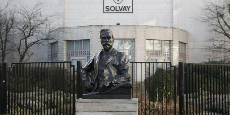 Solvay a pâti de la chute du prix du guar au 3e trimestre