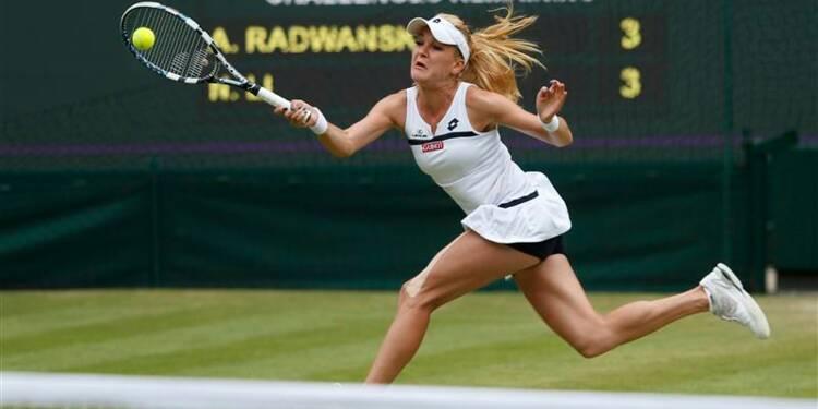 Wimbledon: Sabine Lisicki première qualifiée en demi-finales