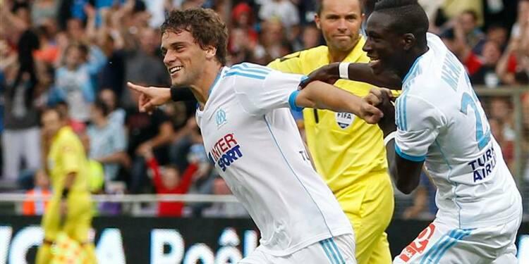 Ligue 1: Saint-Etienne prend la tête, l'OM arrache un point