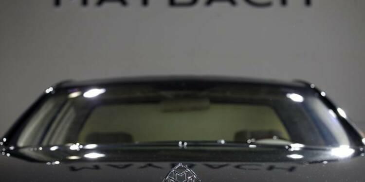 Daimler veut relancer la marque de luxe Maybach
