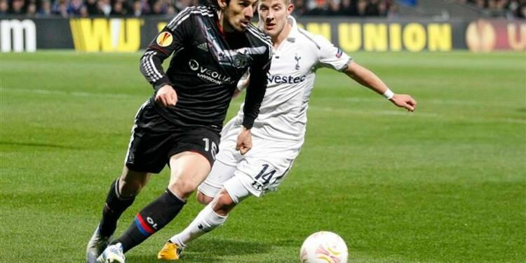 Ligue Europa: Lyon éliminé par Tottenham