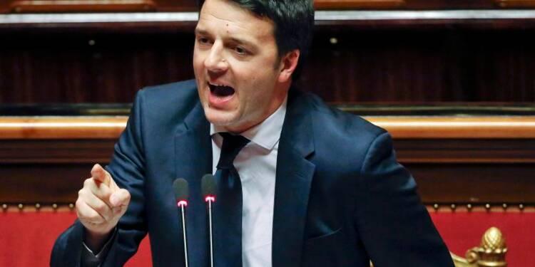 Le Sénat italien vote la confiance à Matteo Renzi
