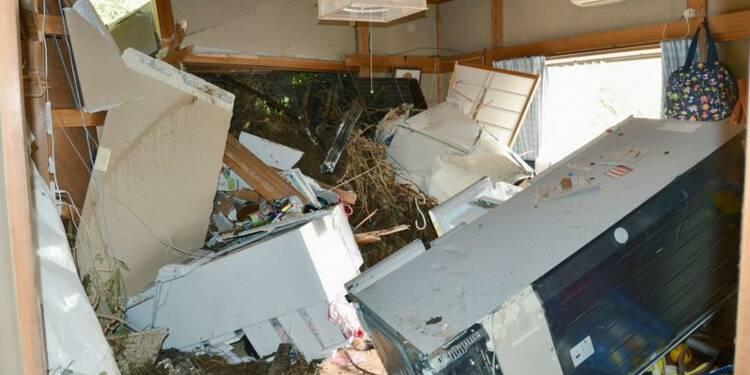 Le typhon Wipha fait 17 morts au Japon et remonte vers le nord