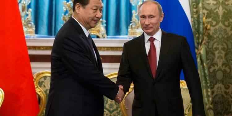 Xi Jinping à Moscou pour son premier voyage présidentiel