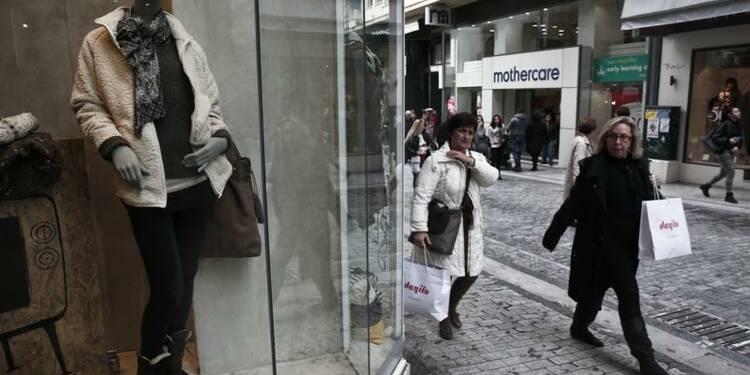 La récession s'est encore atténuée au 4e trimestre en Grèce