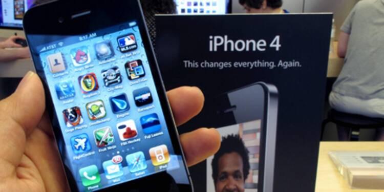 Apple a écoulé 1,7 million d'iPhone 4 en trois jours